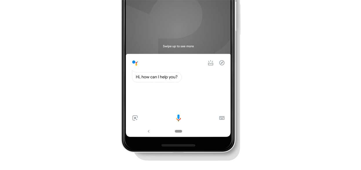 Google Assistant on the Pixel 3