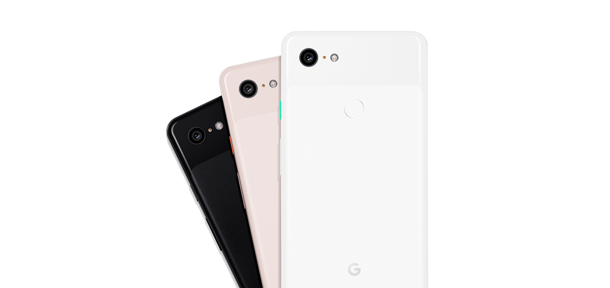 Back view of the Google Pixel 3