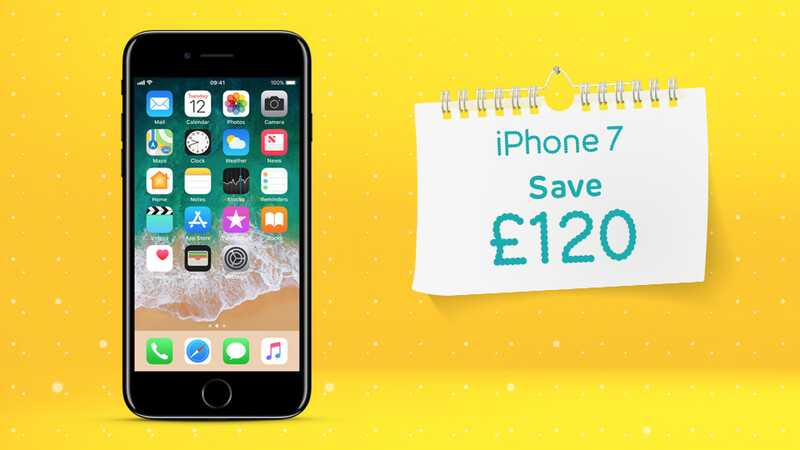 Save £120 on iPhone SE