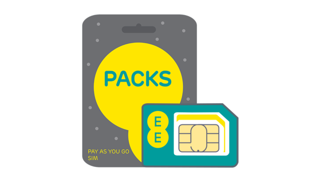 Free 4G Pay As You Go SIM Card | Pay As You Go SIM | EE