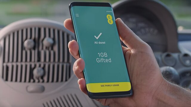 Family Account | Data Gifting & Additional Line Benefits | EE