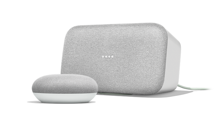 Google Home Max and Home Mini