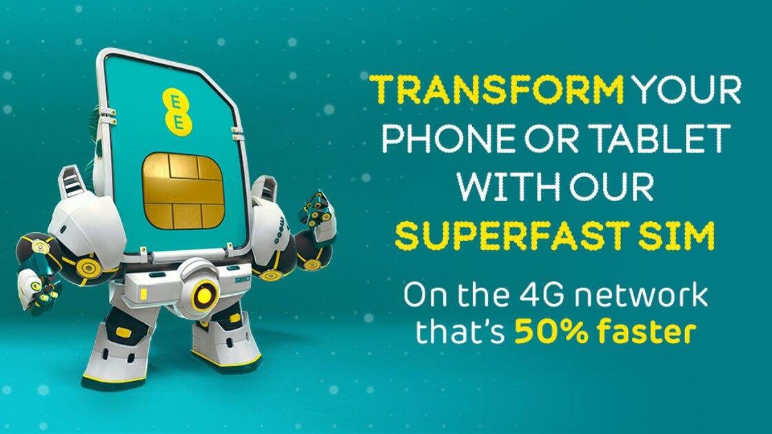 Ee sim deals pay monthly