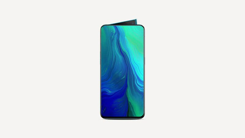 Oppo Reno 5G screen
