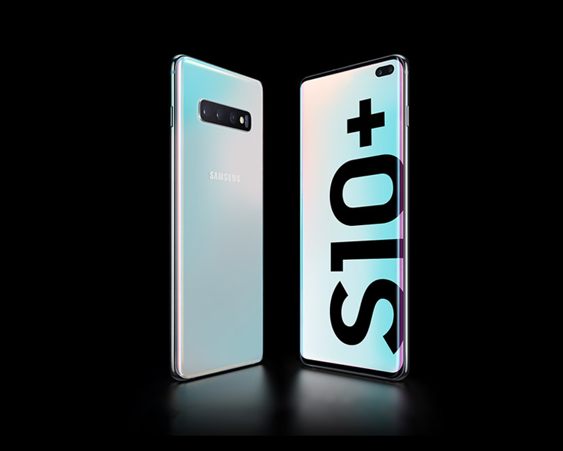 Galaxy S10 and Galaxy S10plus