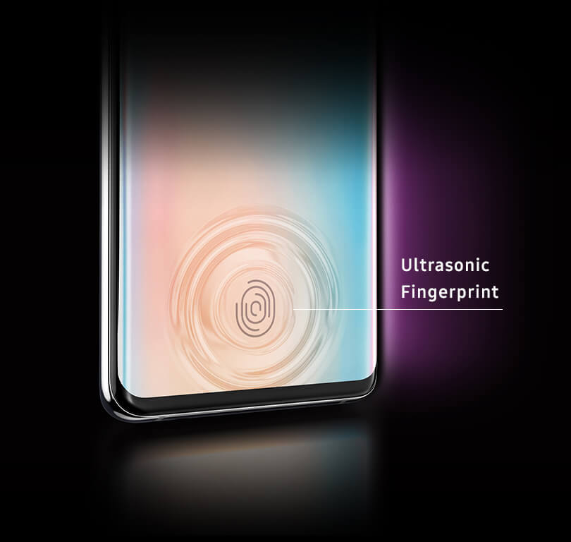 The Galaxy S10plus ultrasonic Fingerprint Scanner ultimate unlocking