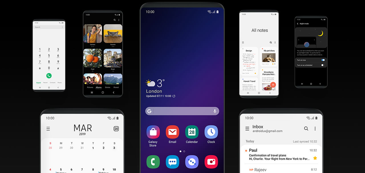 One UI  a smarter way to use your Galaxy S10plus