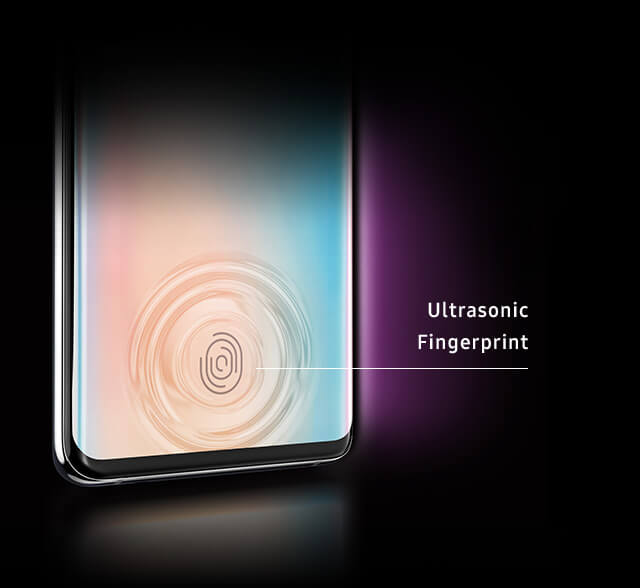 The Galaxy S10 ultrasonic Fingerprint Scanner ultimate unlocking