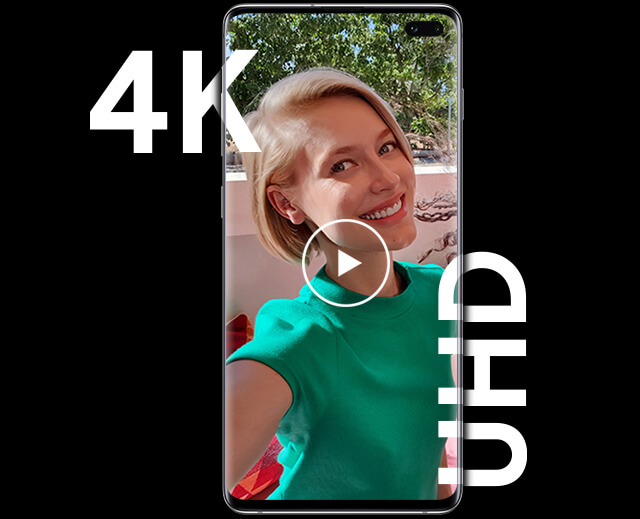 The Galaxy S10e starring 4K Ultra High Definition video