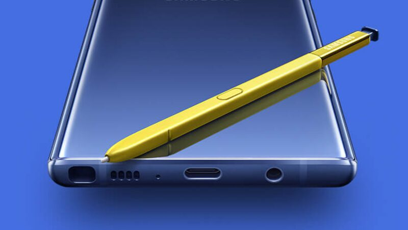 Samsung Galaxy Note9 with S Pen