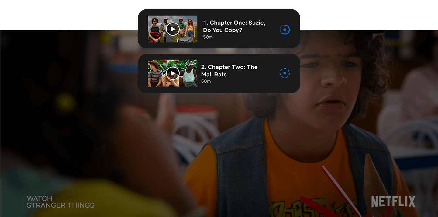 Download Netflix's Stranger Things over 5G