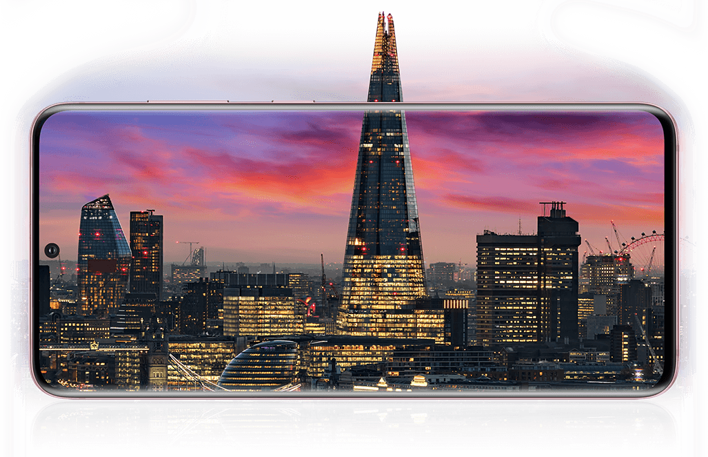 Samsung Galaxy S20 Plus 5G photo of the London skyline