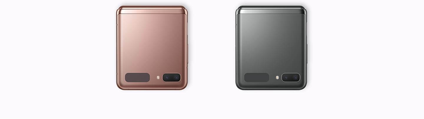 Samsung Galaxy Z Flip 5G Black and Bronze