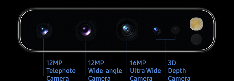 Galaxy S10 5G has six cameras