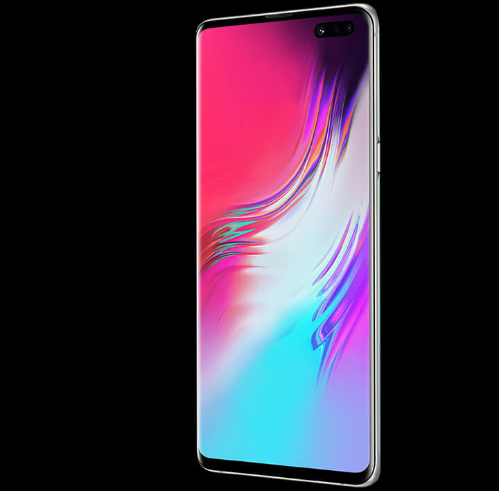 Samsung Galaxy S10 5G 6.7 cinematic Infinity-O display
