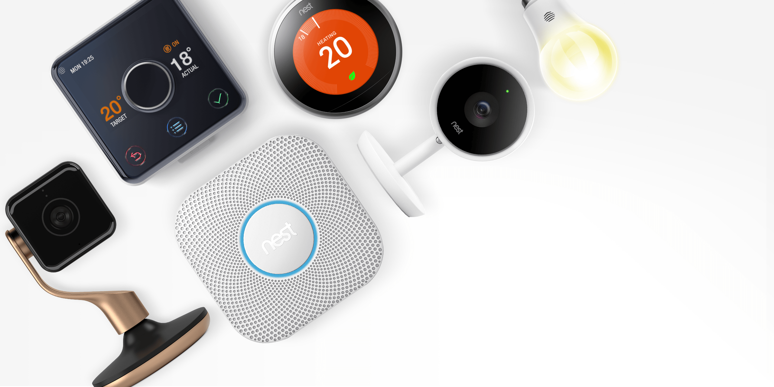 Collection of smart home products
